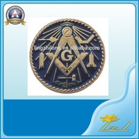 Cheap Wholesale Custom Masonic Insignia 3D car emblem