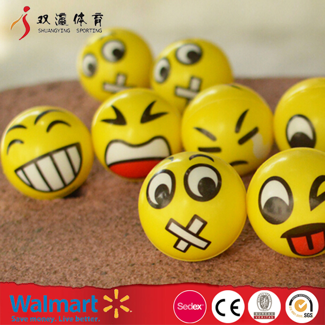 face emoji stress ball,DIY anti pu stress ball,cheap bulk stress balls wholesale
