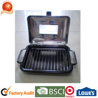 charcoal fish grill for barbecuing fish/roasting fish grill/outdoor camping Hongxuan