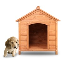 Manufacturer wholesale Wood Outdoor pet House dog Kennel Crates with Porch