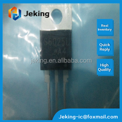 NON-SENSITIVE GATE 25.0A 600V TO-220-3 S6025L