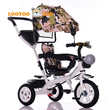 3 in one trike for sale malaysia / chinese child tricycle / cheap kids tricycle pedal cars wholesale with sunshade