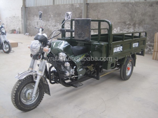 New design high quality 250cc cargo truck three wheel motorcycle