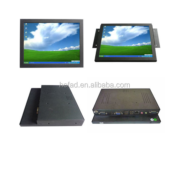 All IN ONE PC 12 inch LED industrial touchscreen embeded computer