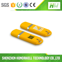 Hotsale 1GB Plastic Flash USB Drive with Customized Logo