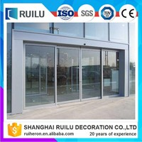 China Manufacturer Automatic Sliding Doors Low Price