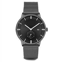 Newest Automatic man watch waterproof Stainless steel strap Calendar watches