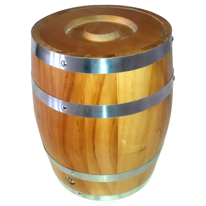 High quality customized color barrels of wood for wine used