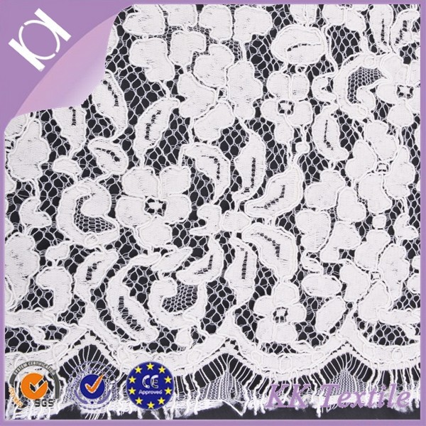 65% Cotton 35% Nylon Lace Fabric Wholesale Fabric Lace Cording Lace For Wedding Dress
