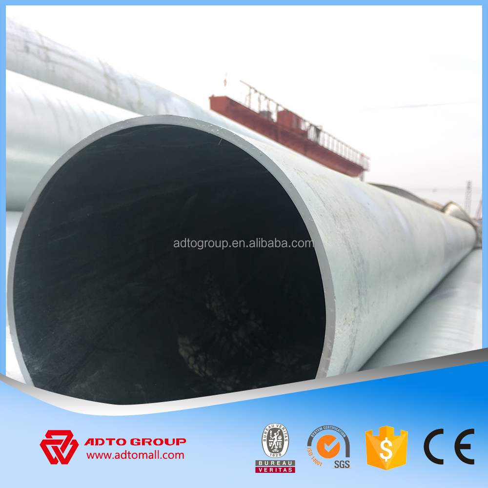 ERW welded steel tube large diameter corrugated steel pipe