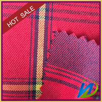 new design 100% cotton plaid twill yarn dye fabric for shirt, uniform and Garments
