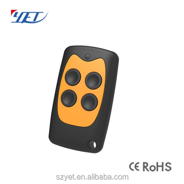 High quality wireless rf hcs301 rolling code 433.92mhz power gate universal remote control