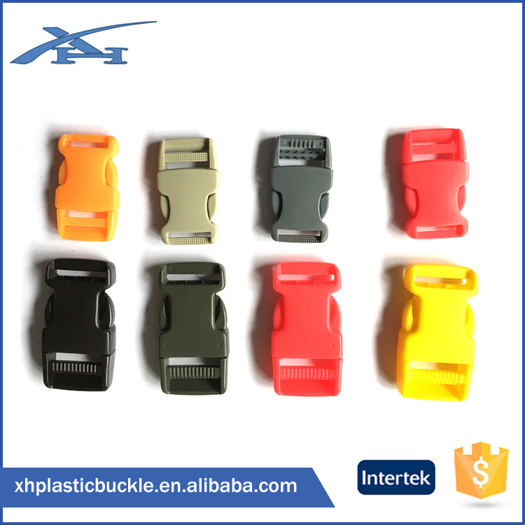 China Manufacturer Cheapest Side Release Plastic Buckles