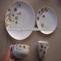 Hot sale 16-piece porcelain dinnerware set