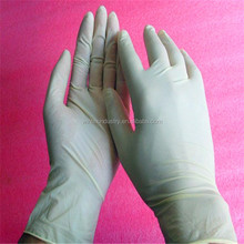 Disposable Latex examination gloves, hand use nature latex gloves, Malaysia made latex gloves
