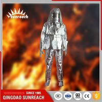 Aluminium Protective Safety Fighting Protection Fire Aluminized Clothing