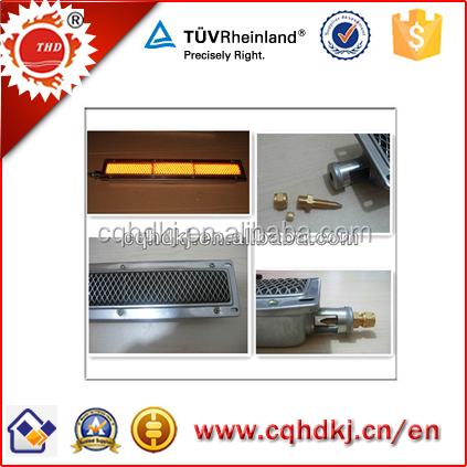 single bbq grill infrared ceramic gas burner