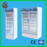 Big capacity commercial supermarket used beverage cooler