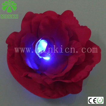 silk flowers with led lights