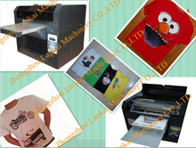 good quality automatic uv flatbed printer/t shirt printer /cloth printing machine
