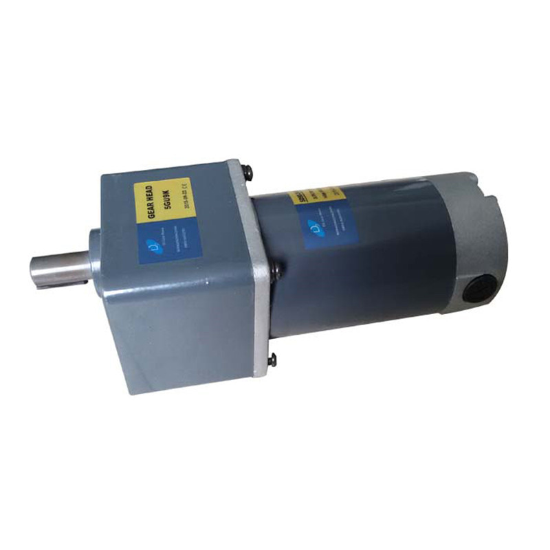 12v high torque 100w dc gear motor with gear box
