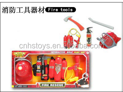 hot selling play set toy fireman equipment
