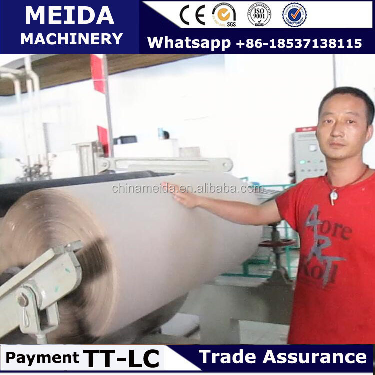 Full Automatic sand paper production machine Made in China 4-6ton capacity