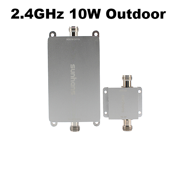 2.4GHz 10W Outdoor Wifi signal booster repeater wifi long range extender