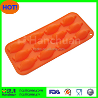 Penguin shape silicone popsicle mold