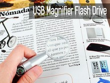promotional gifts magnifying lens usb flash drive 8gb accept paypal