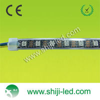 ws2812b led pixel strip black pcb color