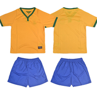 2014 hot sale blank soccer jersey for kid World Cup national team custom soccer uniform youth football jerseys