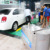 LPG steam car washer for door to door mobile steam car wash