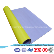 China waterproof plastic durable pvc floor carpet covering