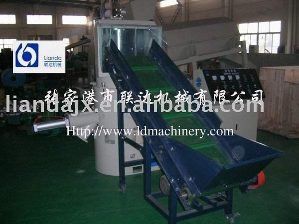 plastic compression and agglomerator machine