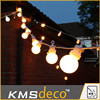 patio lights string 24v/gardland string light with bulb