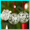 2016 Delicate christmas hanging decoration crystal christmas snowflake ornament