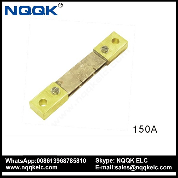 NK9999 RS 150A 75mV DC Electric current Shunt Resistors for meter