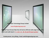 "24"" IR Multitouch Screen frame"