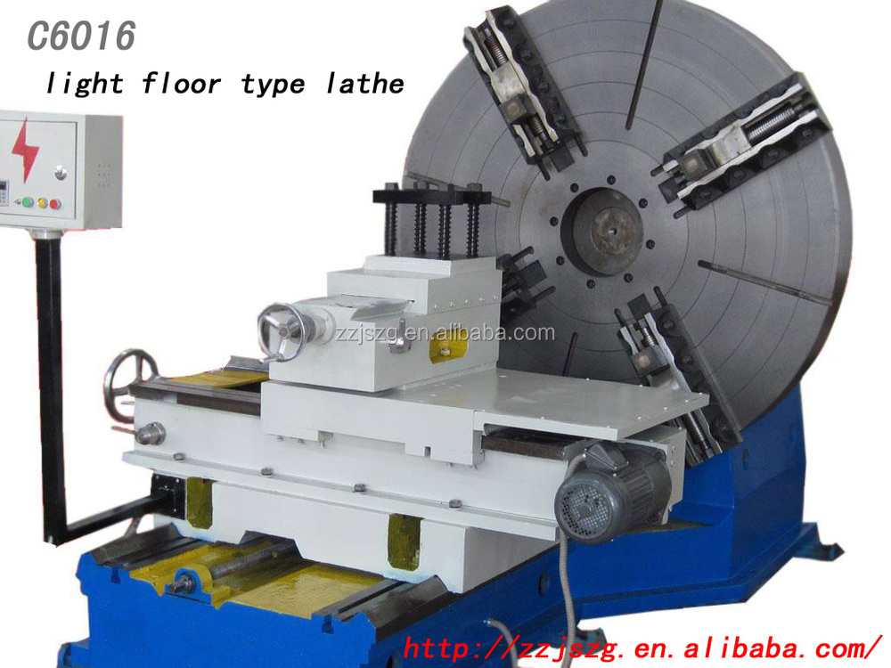 China Manufacturer Cheap! Large Diameter 1600mm Face End Surface Tire Tyre Mold Moulds Turning CNC Facing Lathe Machine