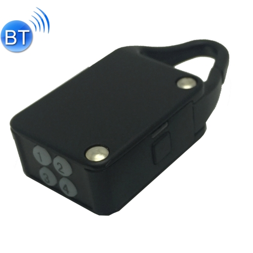 In stock Keyless Automatic rechargeable mini Smart Secure Bluetooth Padlock for iOS and Android Devices