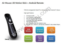 Air Mouse+3D Motion Stick + Android Remote