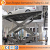 Workshop equipment scissor hydraulic car lift platform used for garage ce