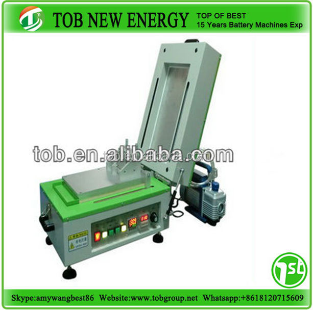 Lab coating machine with dry function for lithium battery electrode making