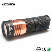 Travel Unique Worklight CREE XPG3 1600 Lumen Rocky Safety Tactical Multifunction Police Led Torch Flashlight 1000 Lumen