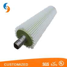 White Nylon Spiral Wound Coil Brushes From China