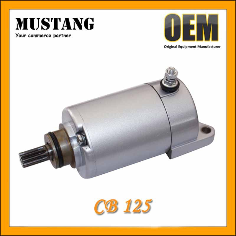 Hot Sell Motorcycle CB125 Starter Motor, Super Quality Smoothly Start with Good Customers Feedback!!
