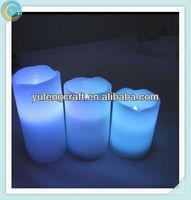 wall mounted glass candle holders