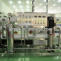 guangzhou SPX-OWP-500L water treatment machine /one stage industrial reverse osmosis system