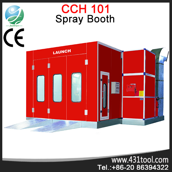 Hotsale LAUNCH CCH-101 spray booth used car paint booth for sale